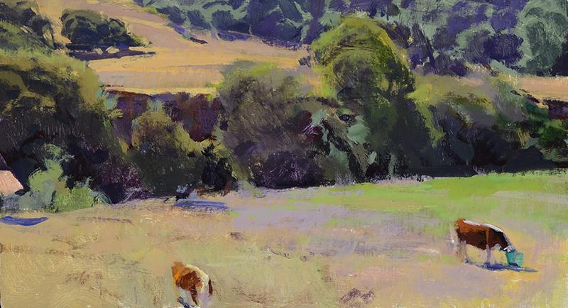 Two Cows, Santa Rosa Creek Road