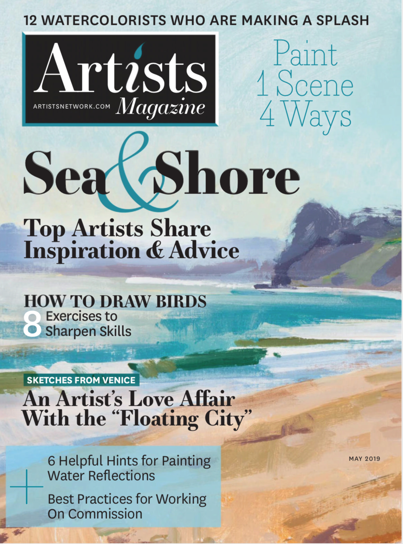 Artists Magazine cover image