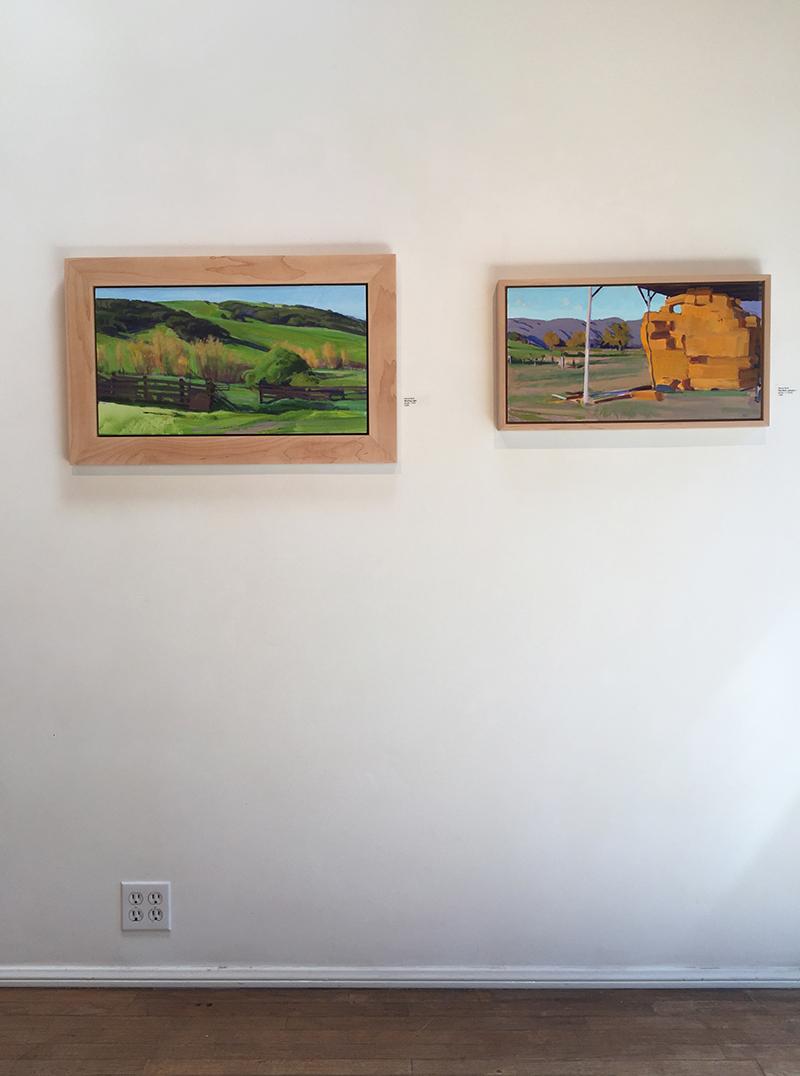 Rural Life exhibit installation view