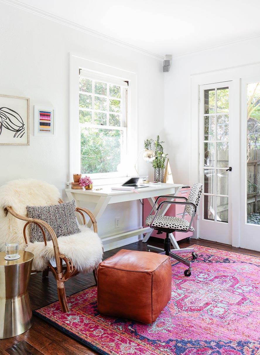 HomePolish Office Spaces: Glam Sophisticate
