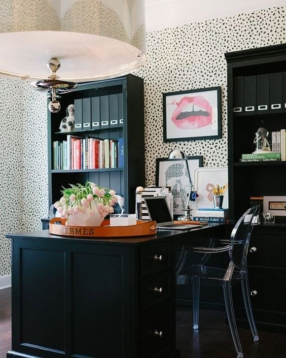 BEHIND THE BIZ: MANDY Kellogg Rye Home Office