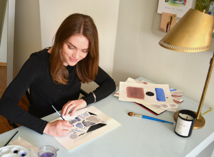 Emily Grady Dodge, Artist & Surface Pattern Designer