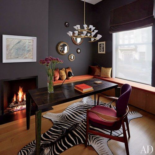 Annabelle Selldorf and D'Apostrophe Design for Christophe Van de Weghe and his wife, Anne-Gaëlle via AD