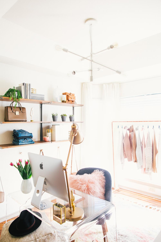 Olivia of Livvyland's Stunning Home Office