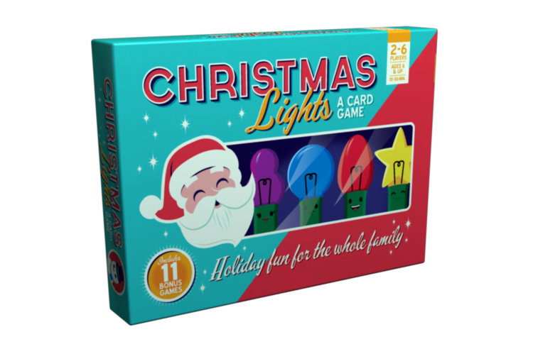 Christmas Lights: A Card Game -  25th Century Games