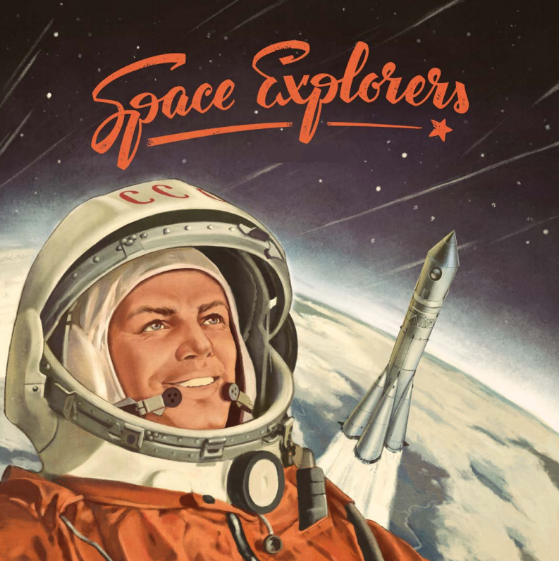 Space Explorers Board Game