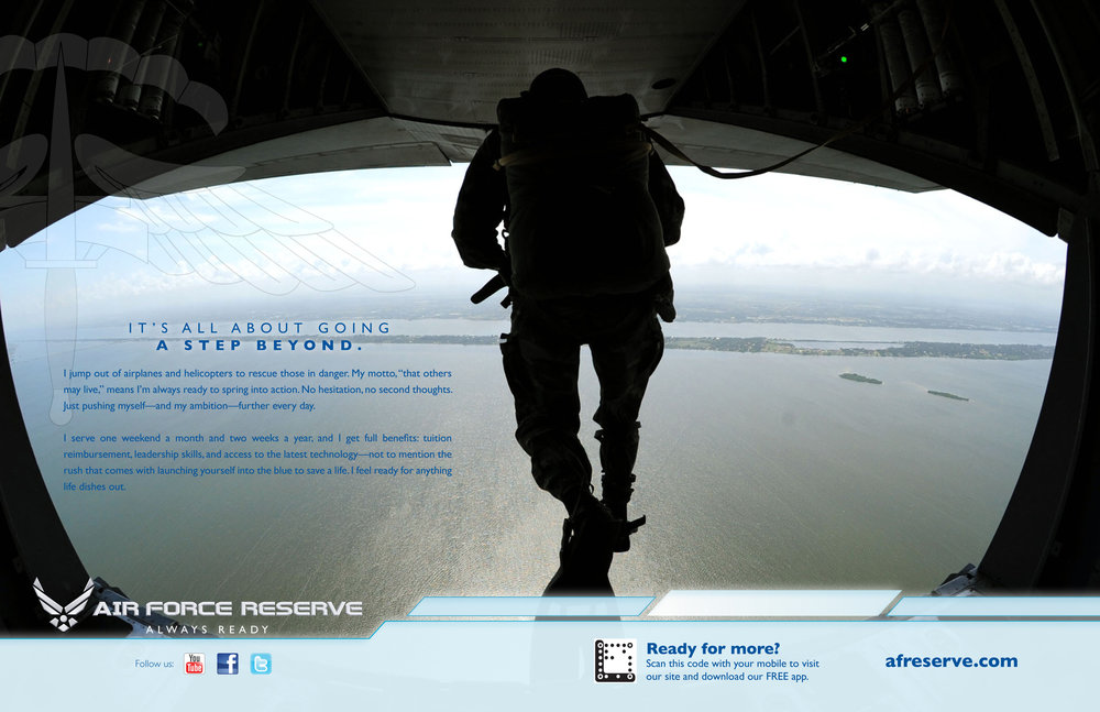 Air Force Reserve Branding Ad - Para Rescue