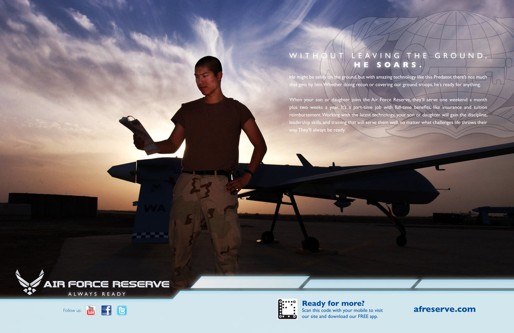 Air Force Reserve Branding Ad - Drone Pilot