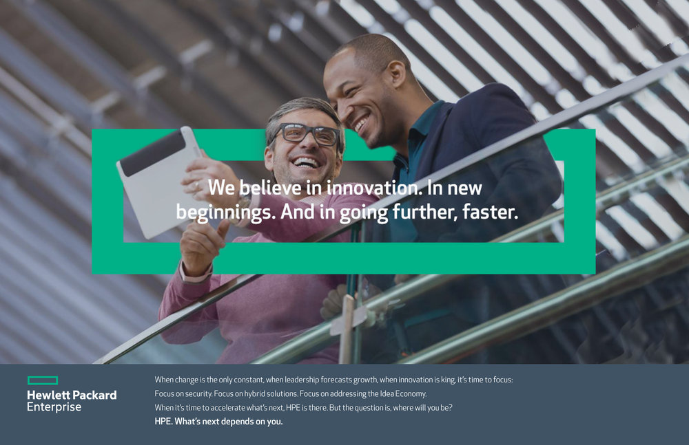 HPE Corporate Branding Ad