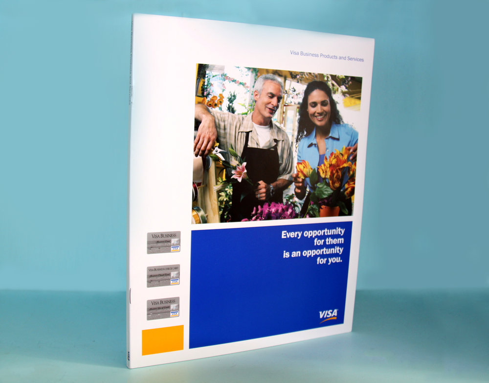 Visa Small Business Marketing Brochure Cover