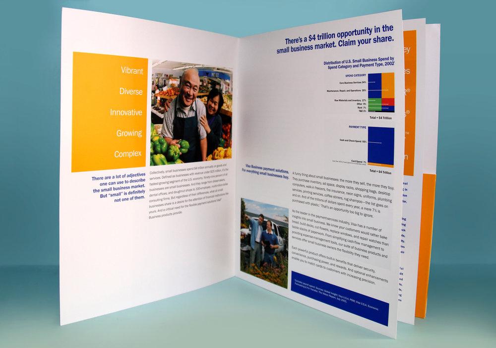 Visa Small Business Marketing Brochure Details