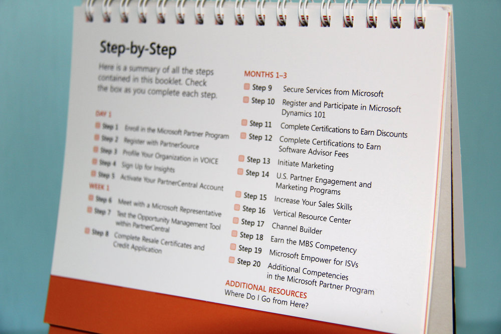 Microsoft Microsoft Partner Program Training Materials Table of Contents