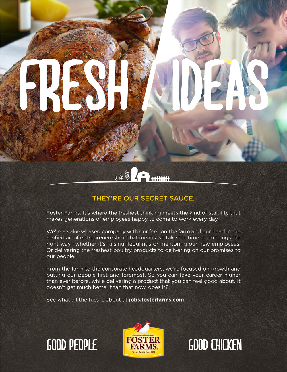 Foster Farms Branding and Design