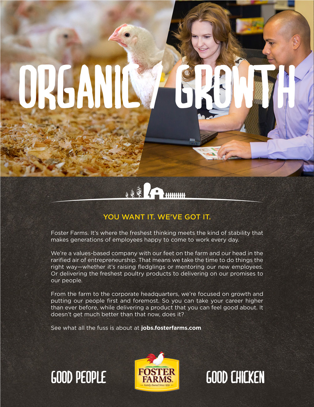 Foster Farms Advertising and Design