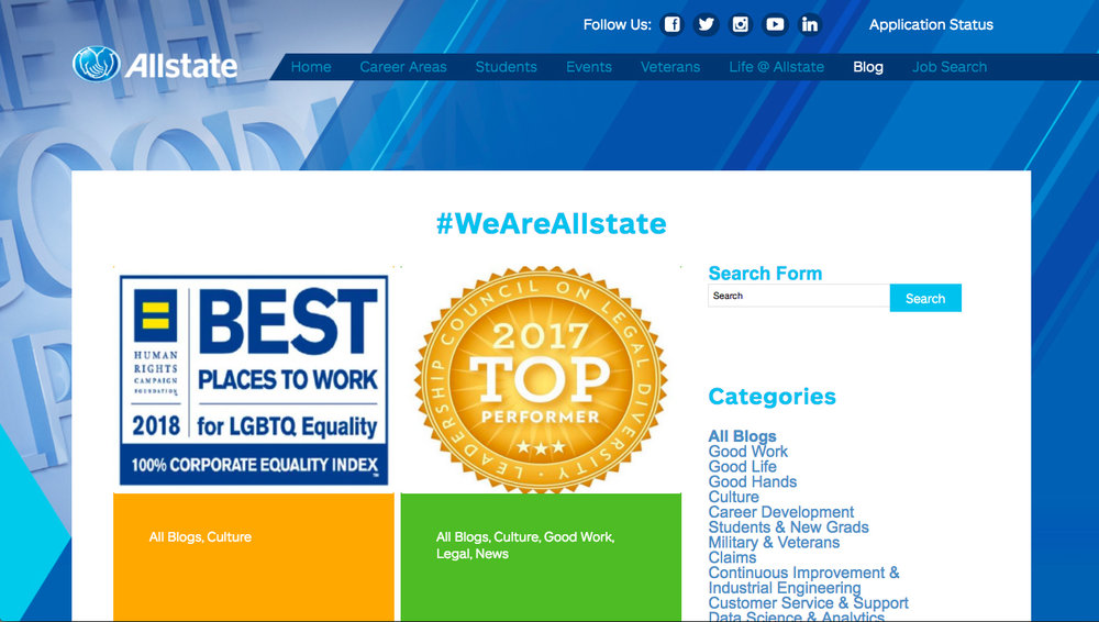 Allstate Women in Tech Blog Archive
