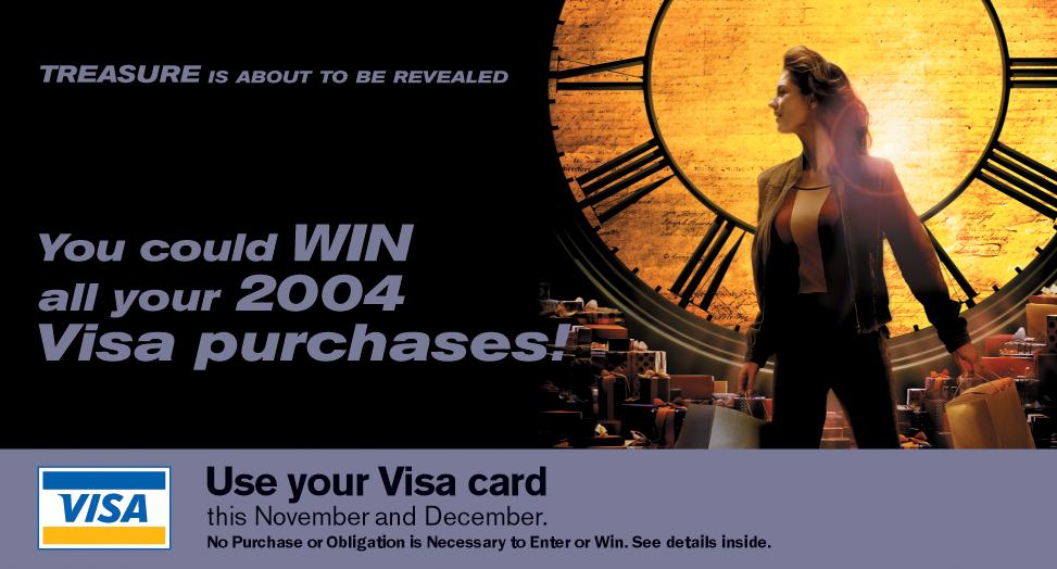 Visa Direct Marketing Bill Stuffer Cover