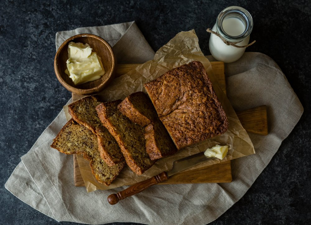 Best healthy banana bread recipe from a dietitian nutritionist.