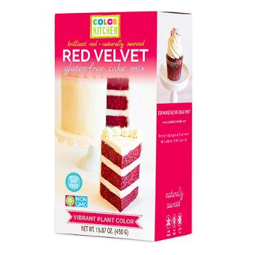 Dye free red velvet cake mix