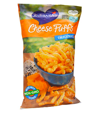 Barbara's cheese puffs