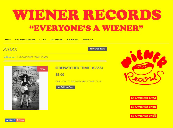 ZOE KISSEL BLOG WRITING MUSIC ON MONDAYS I LISTEN TO sidewatcher's time cassette out now on wiener records
