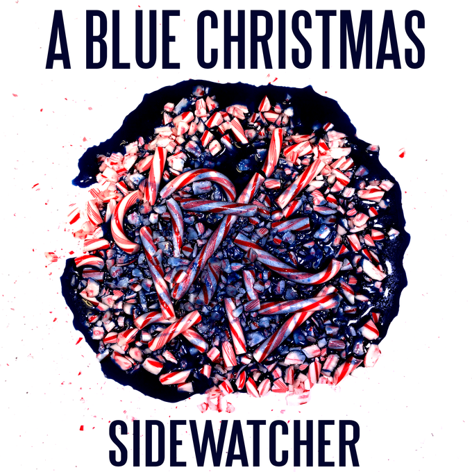 ZOE KISSEL BLOG WRITING MUSIC ON MONDAYS I LISTEN TO sidewatcher's a blue christmas is out now