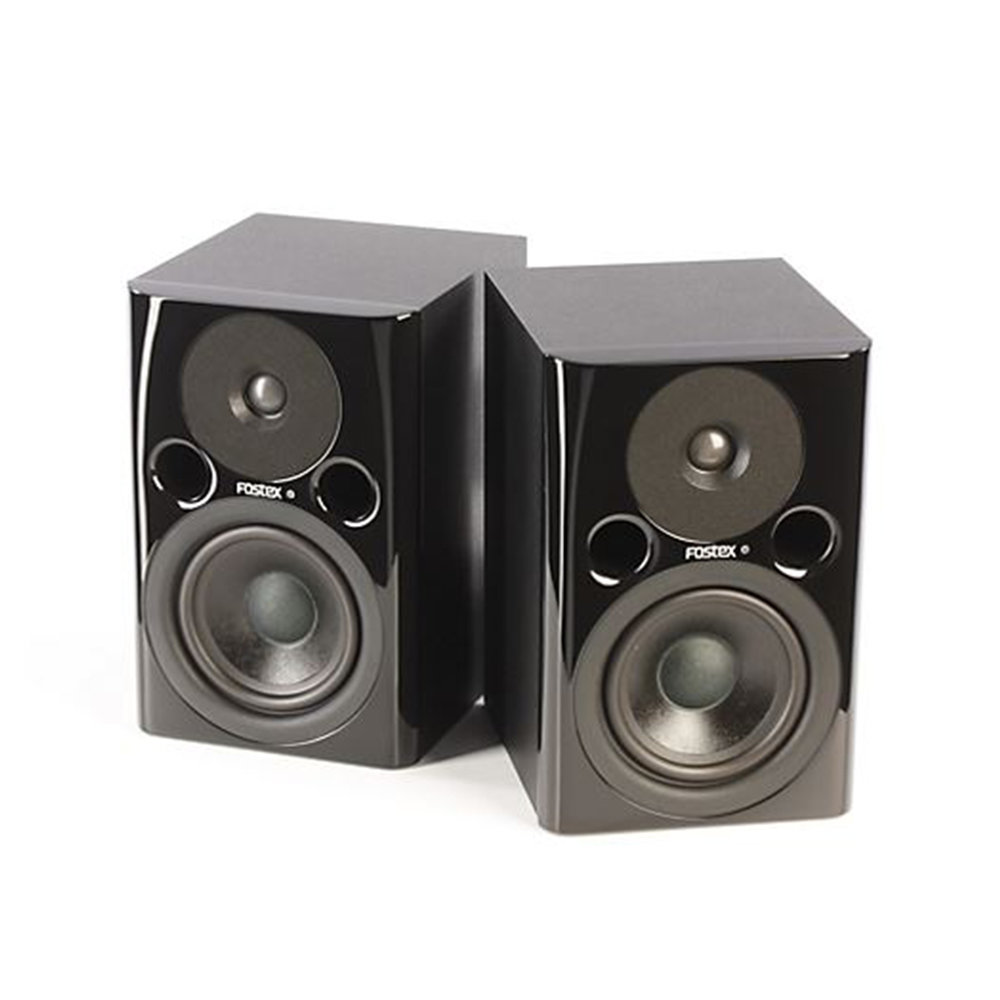 Fostex PM04n Powered Studio Monitor Pair.JPG