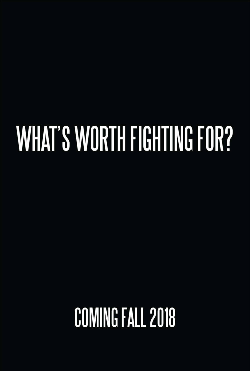 whats worth fighting for zoe kissel film poster