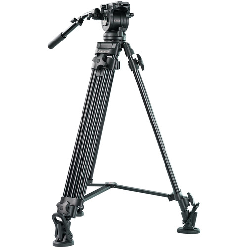 E-Image EK60AAM Fluid Drag Video Head and Tripod.jpg