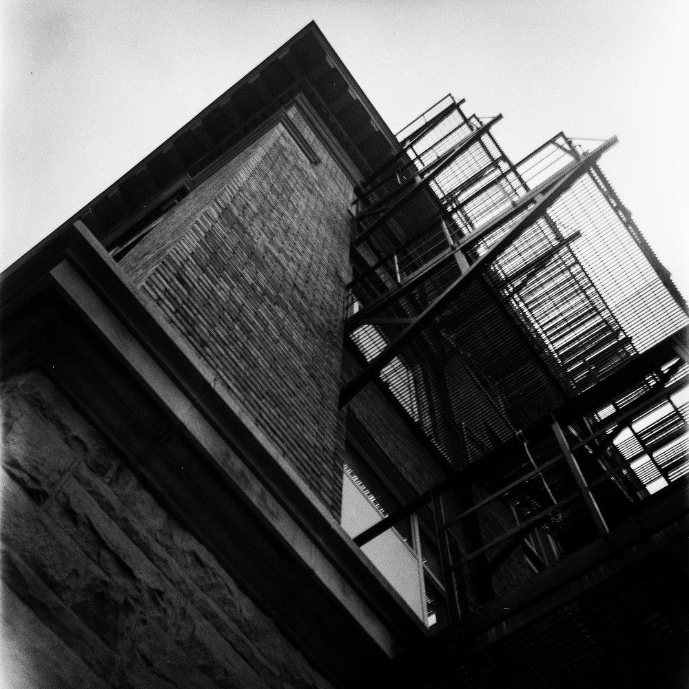 1949 Kodak Brownie Hawkeye Photo Medium Format 620 Film Zoe Kissel Photo MSU Campus East Lansing