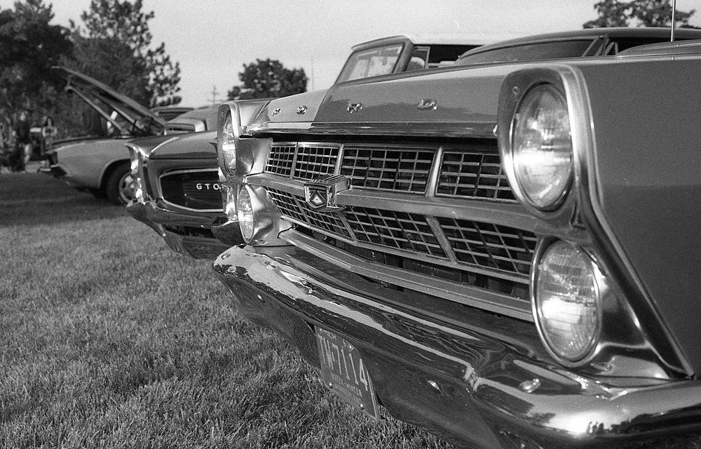 1981 Minolta X-700 Photo 35mm Film Zoe Kissel Riverview Summerfest Cars