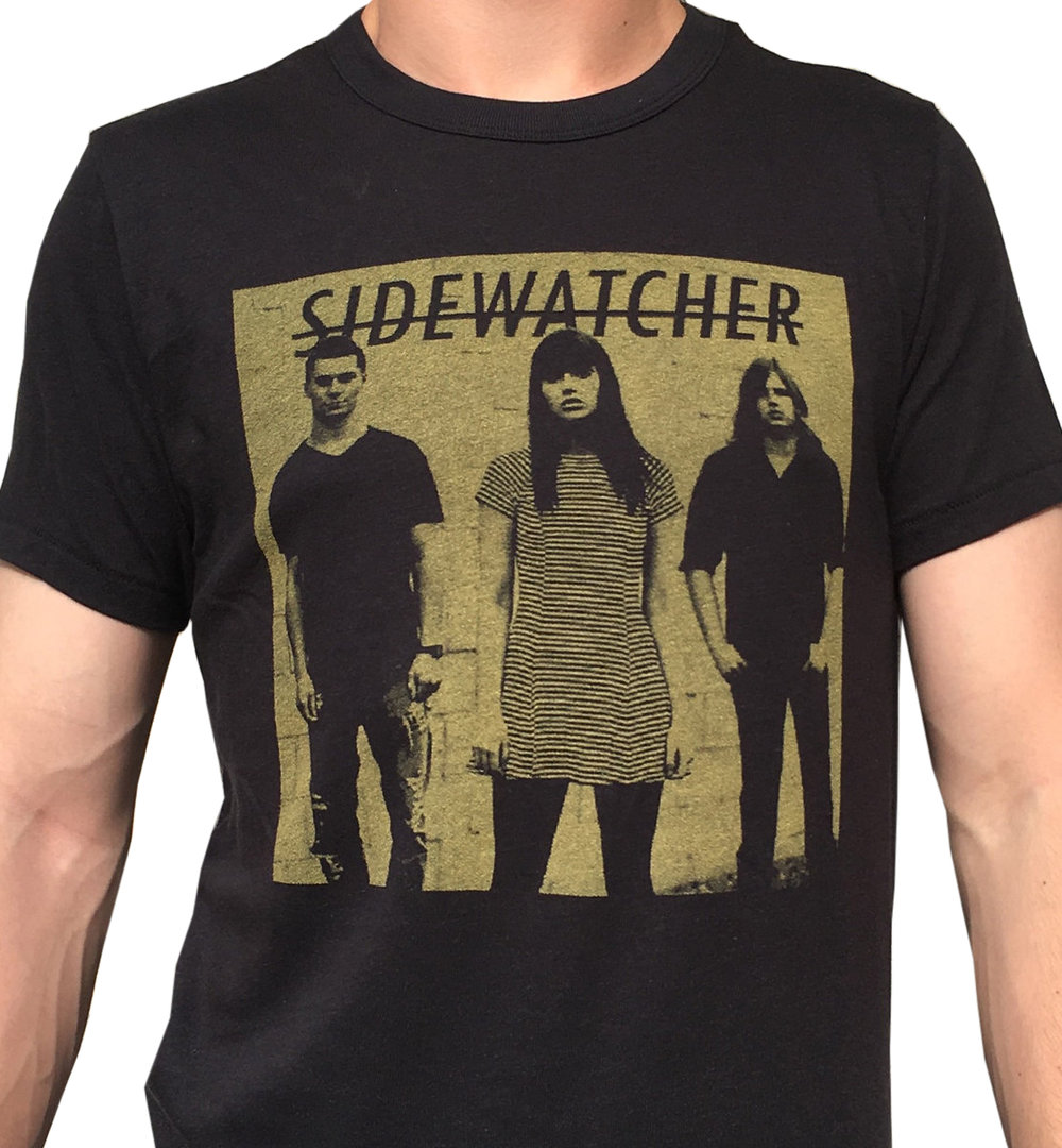 zoe kissel music sidewatcher merch otra vez i & ii yellow on black t-shirt store shop