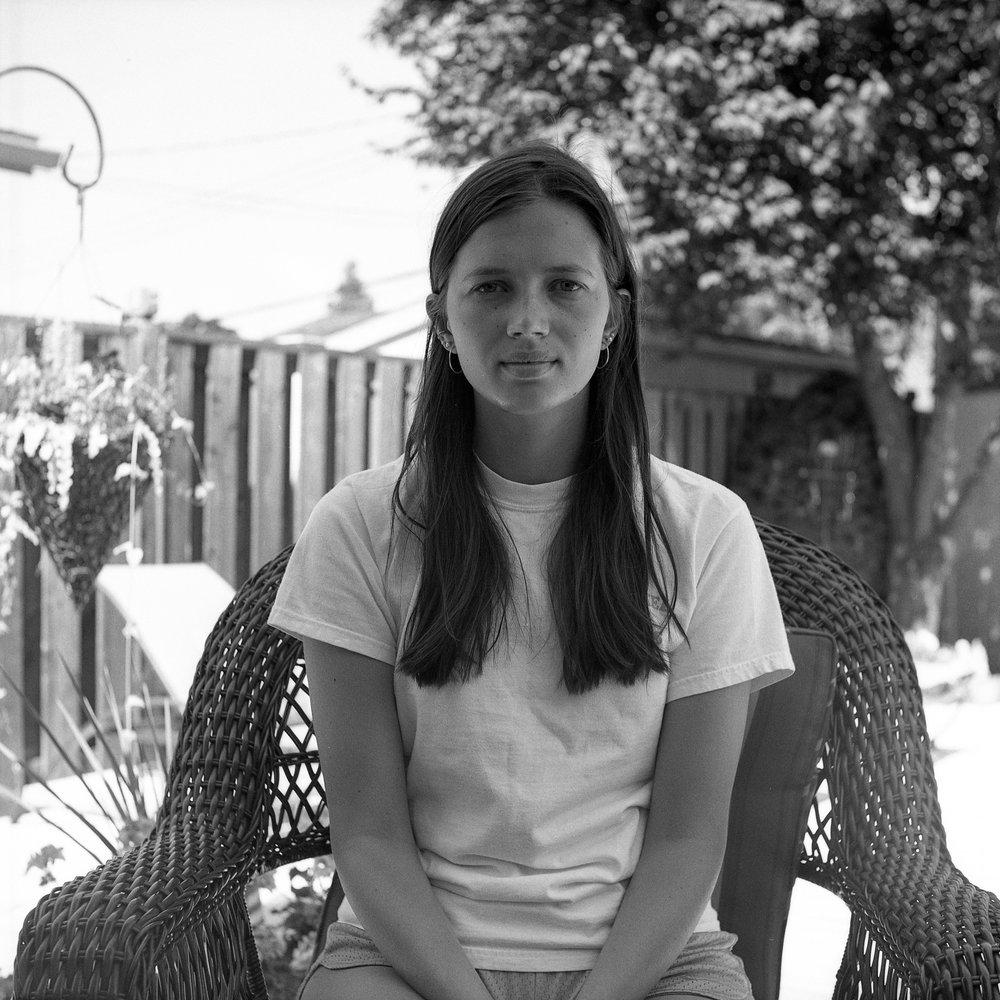 1959 Yashica A Photo Medium Format 120 Film Zoe Kissel Photography portrait