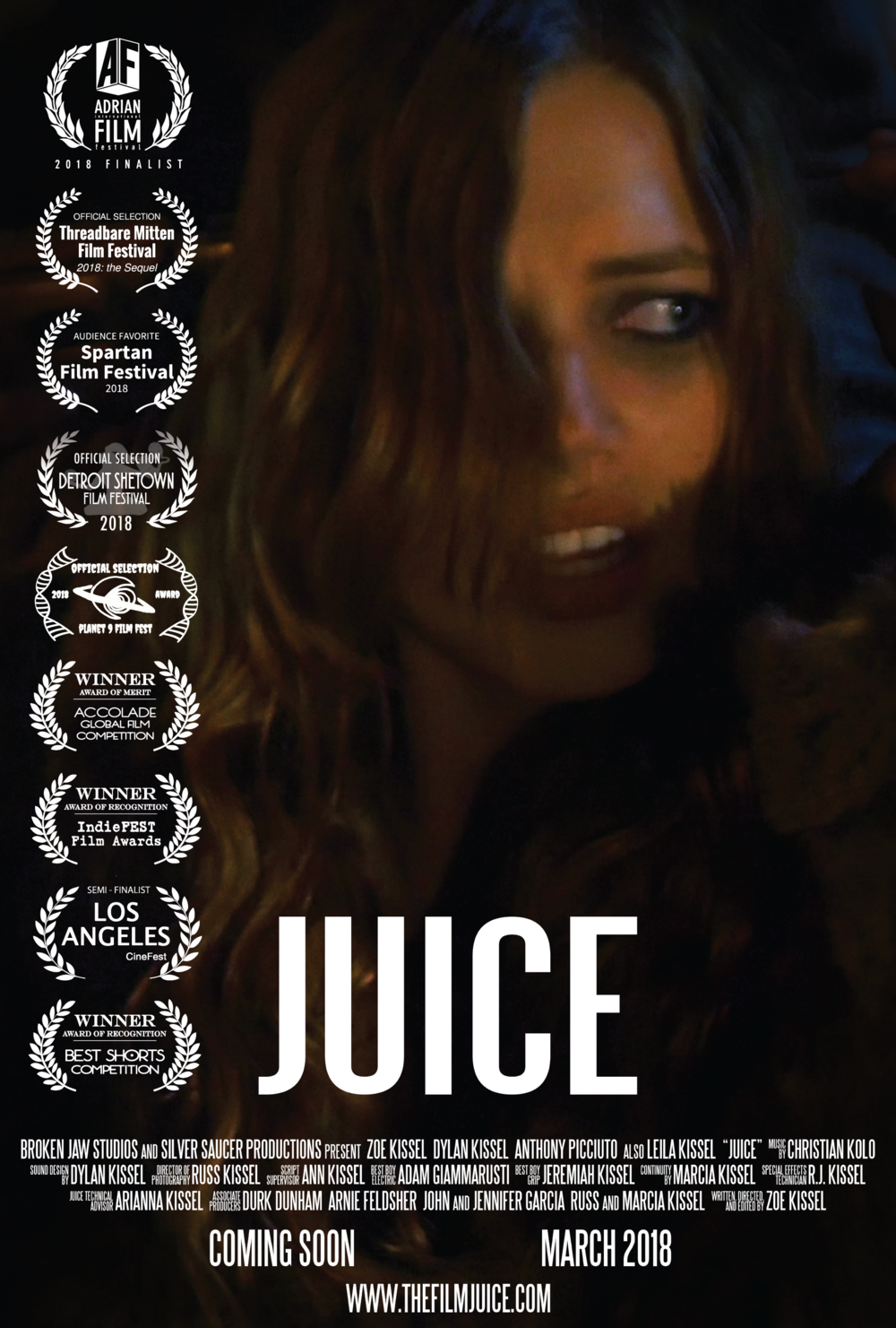 Juice zoe kissel film poster