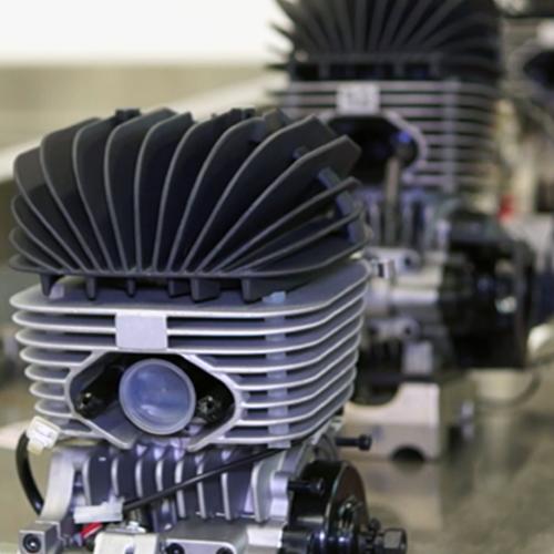 Tony Kart's engine maintenance facility