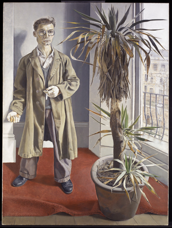 Interior at Paddington. Lucian Freud.