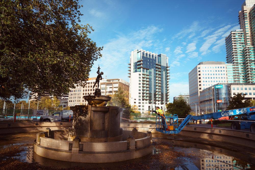 Macpherson Robertson Fountain.