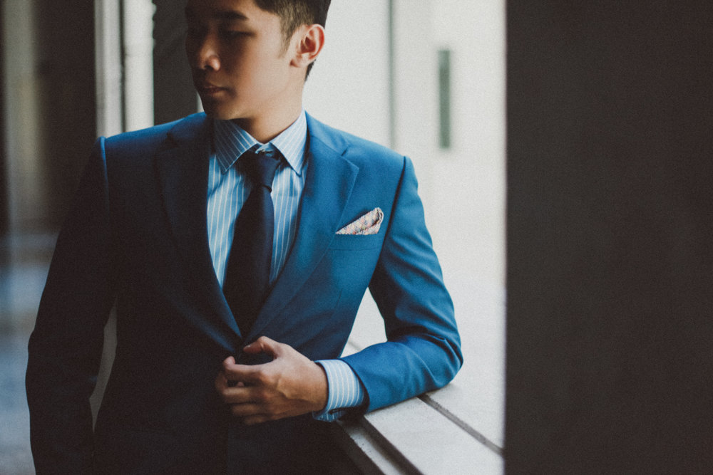 Suit  - Prices start from SGD399 onwards.