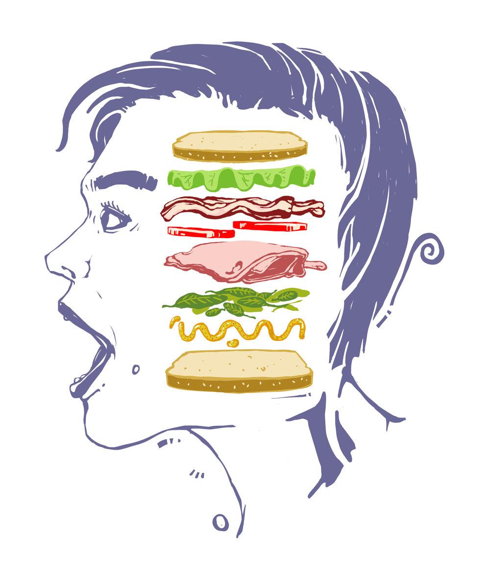 Sandwich Head