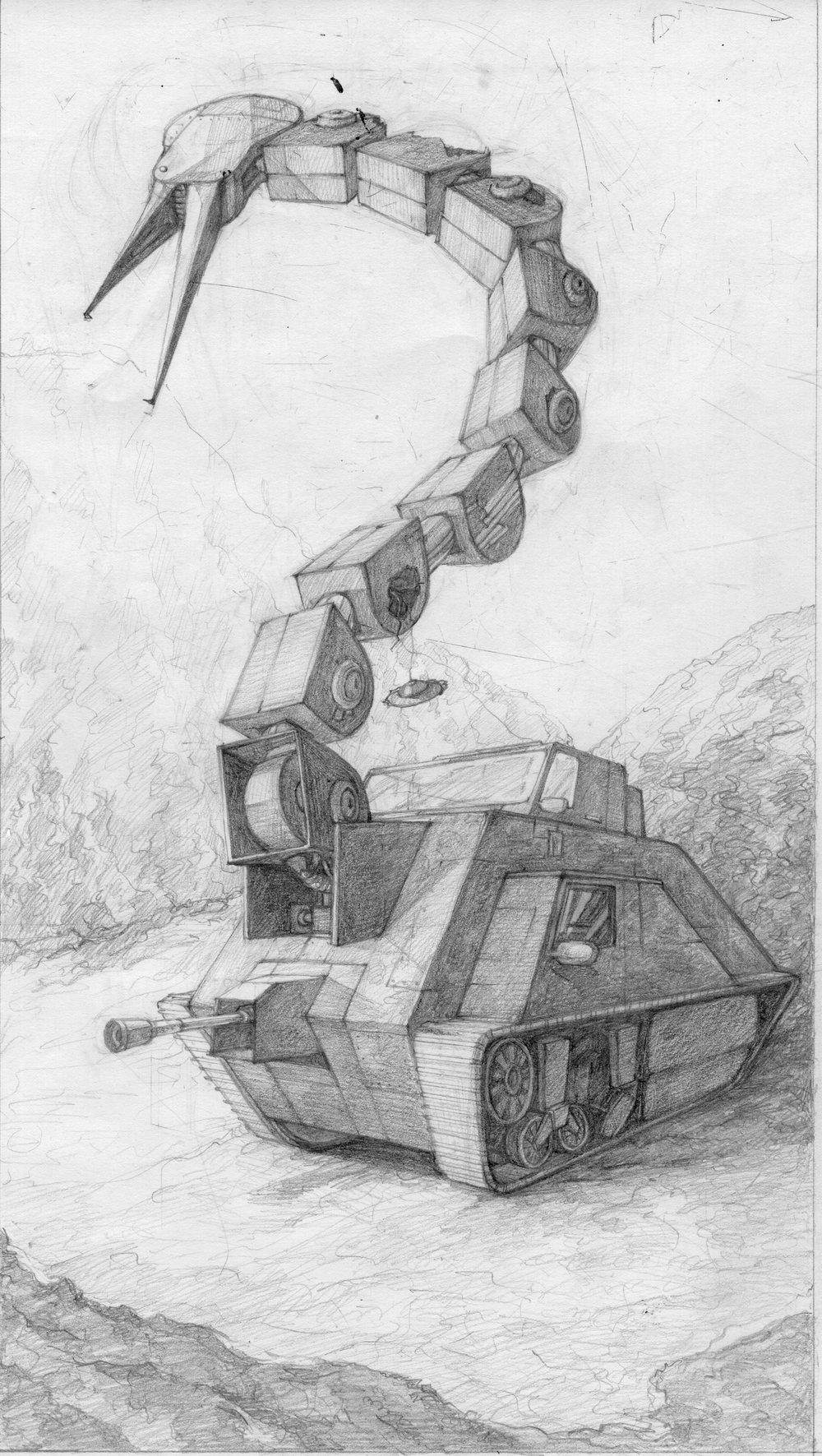 Crane Crane Tank