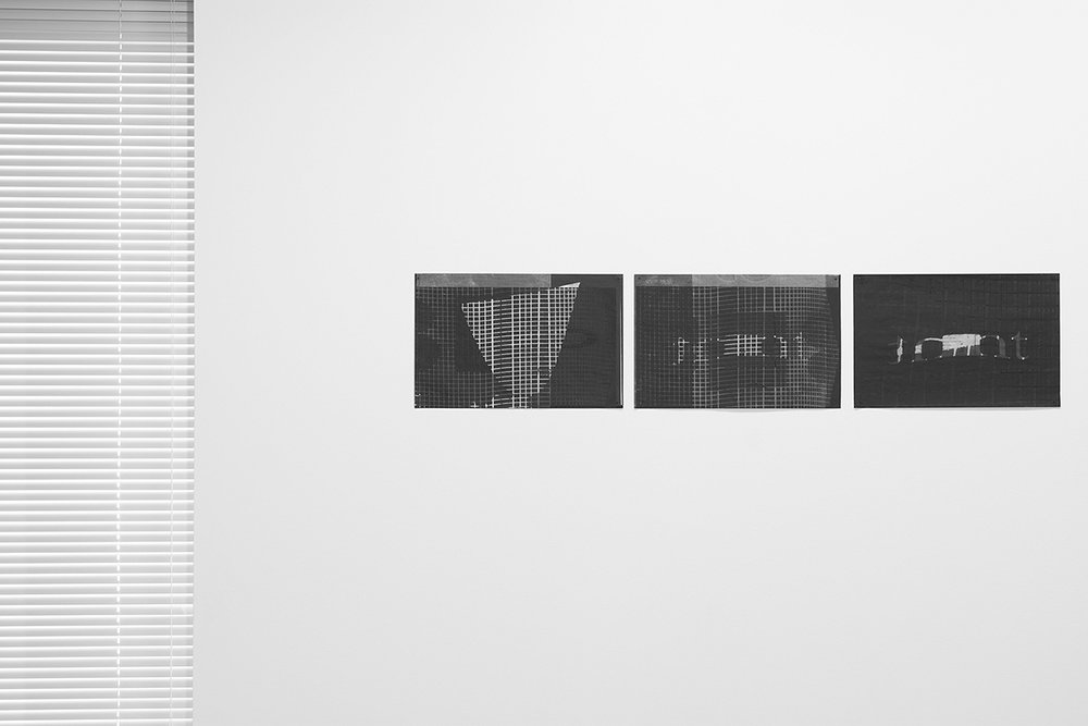 Untitled (F10/22/47)   silkscreen over photocopy and laser-print  11 x 17 inches each  2012
