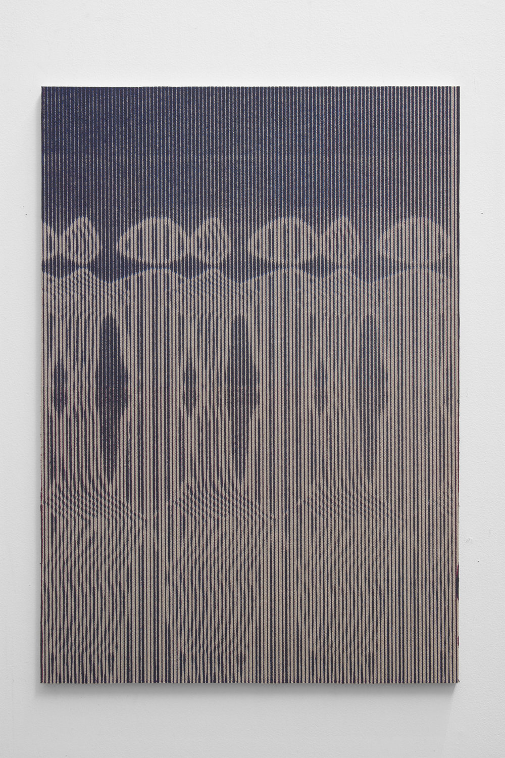 Graham McDougal,  Reapers , 33x23 inches, acrylic, silkscreen, on linen mounted to panel, 2018.