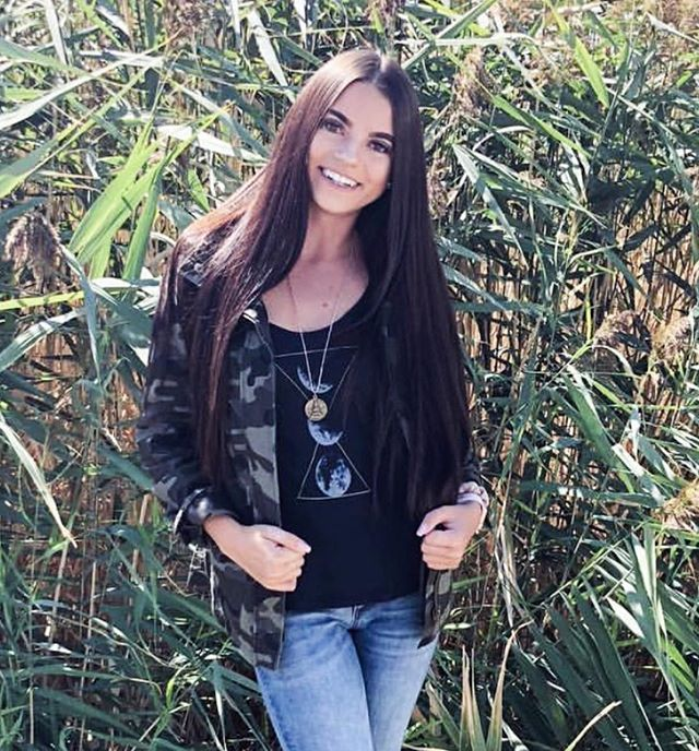 """We love how the beautiful @katie_brown03 took our """"Moon Cycle Tank"""" into fall with this @chicstyleutah amazing camo jacket!!! (There is only a couple left!) There is still some of our summer collection left use code """"EXTRA30"""" to get 30% off off the whole collection!!! (Don't miss out, very limited stock!) layer any of our T's for a perfect fall outfit!!!⚡️ . . . . . . . #boutiqueshopping #almostsoldout #endofsummersale #ourstyle #sale #discountcodes #discounts #goingfast #fallstyle #fallwear #fallfashion2018 #camojacket #blacktank #style #instaboutique #shirtsforsale #handdrawn #oneofakind #wildatheartclothingco #lovewildatheartco #britneybeusstyling #wildatheartclothes"""