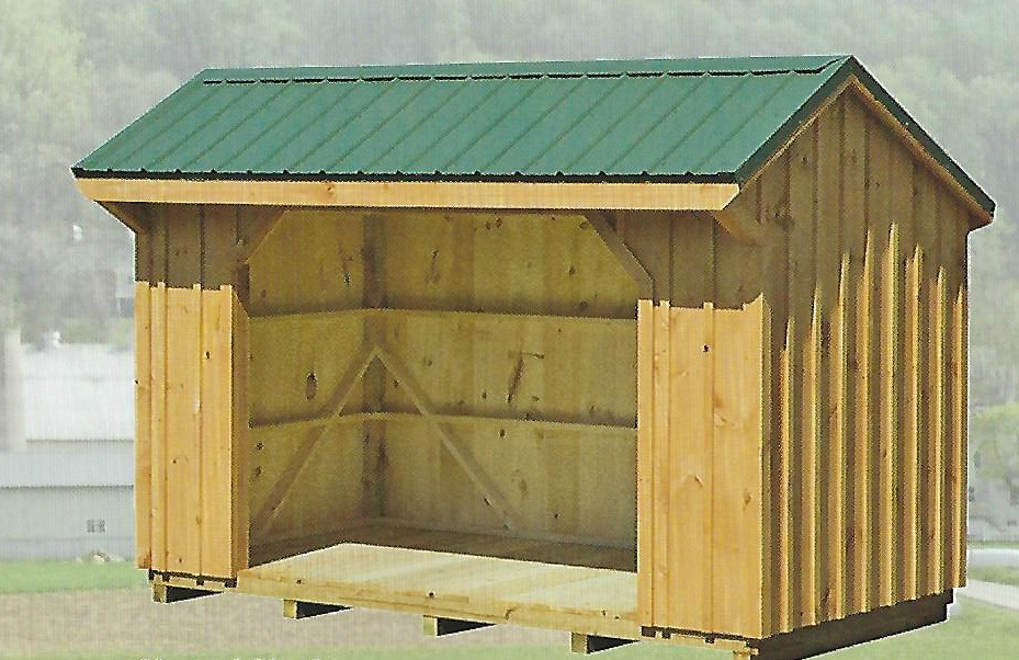 WOOD SHEDS / CHICKEN COOPS