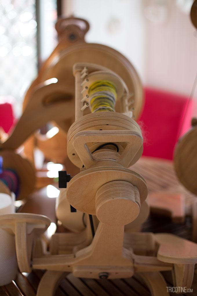 Pour entretenir ses rouets Spinolution sur www.tricotine.com