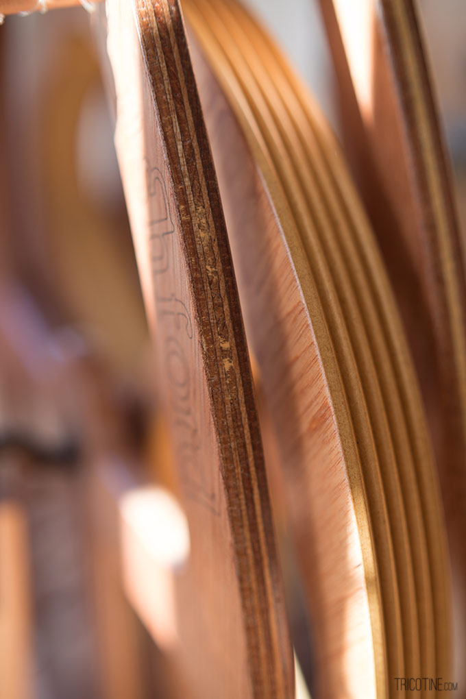 Pour entretenir son rouet Joy d'Ashford et sa roue sur www.tricotine.com