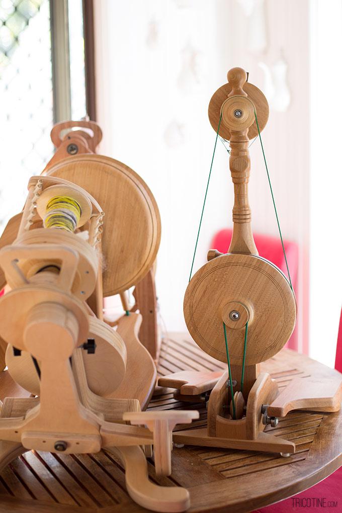 Pour entretenir son rouet LITTLE GEM de Majacraft sur www.tricotine.com