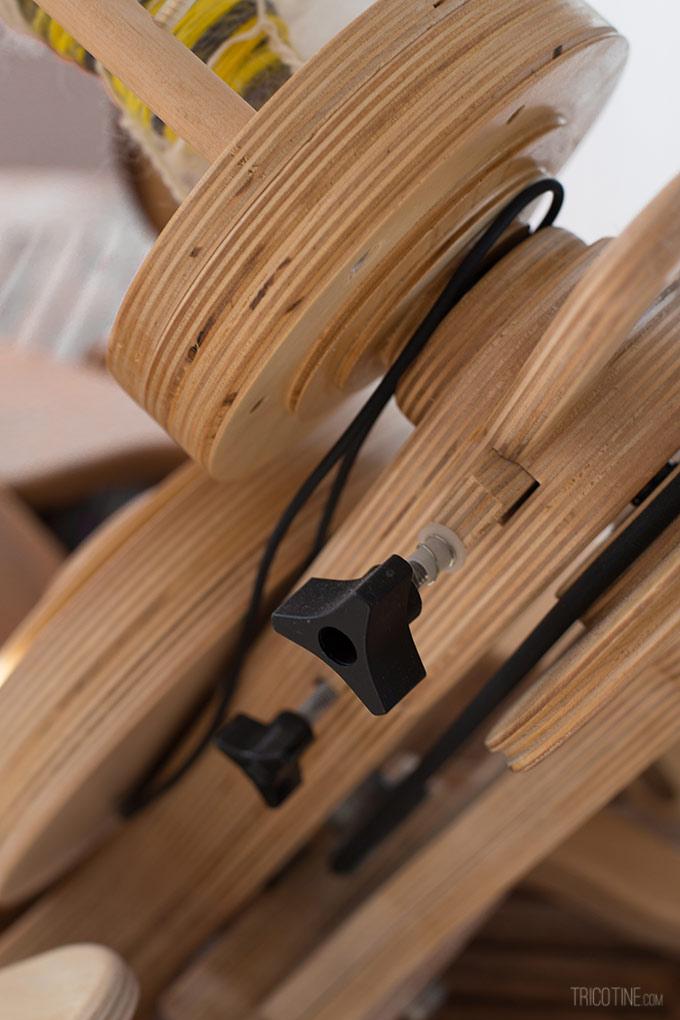 Pour entretenir son rouet Spinolution sur www.tricotine.com