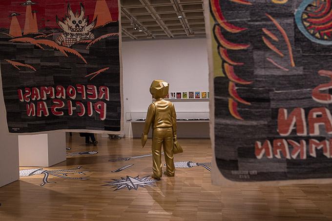 Artiste indonésien Eko Nugroho - Art gallery of NSW - exposition