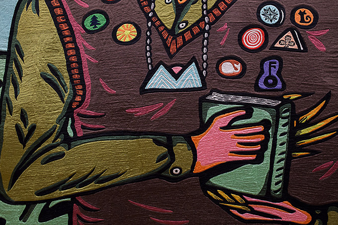 Artiste indonésien Eko Nugroho - Art gallery of NSW - zoom