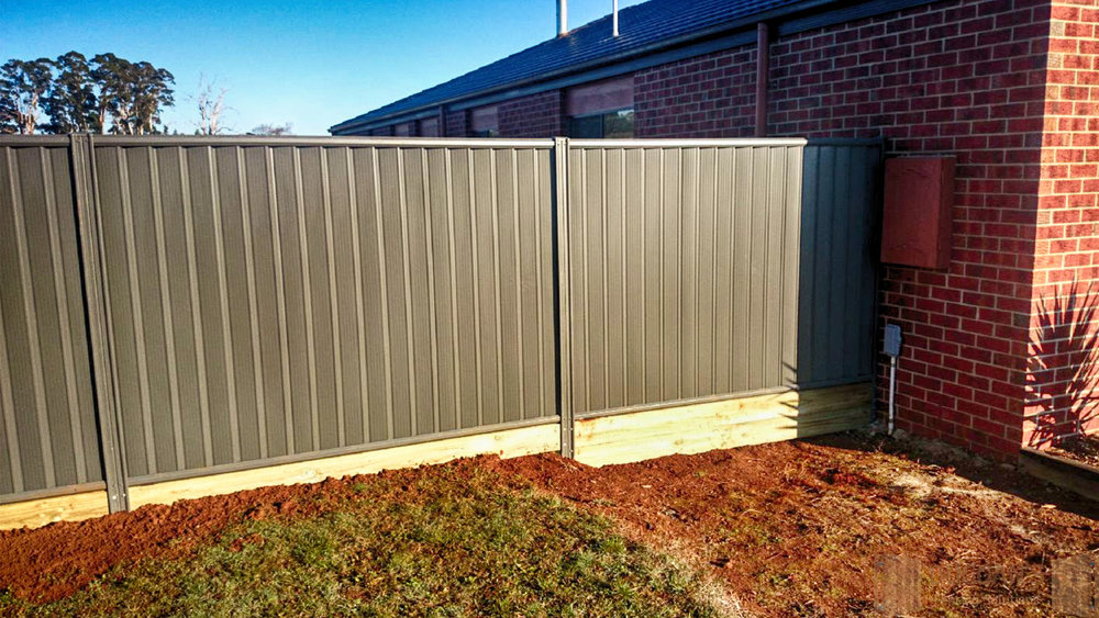 Colorbond Steel Fencing